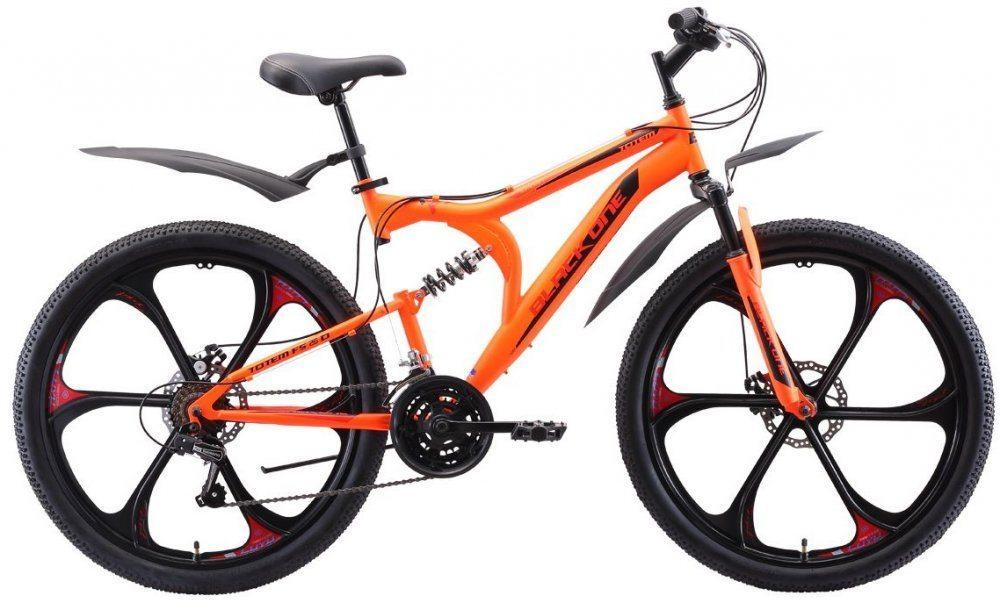"""Горный велосипед Black One Totem FS 2020 26"""" D FW"""