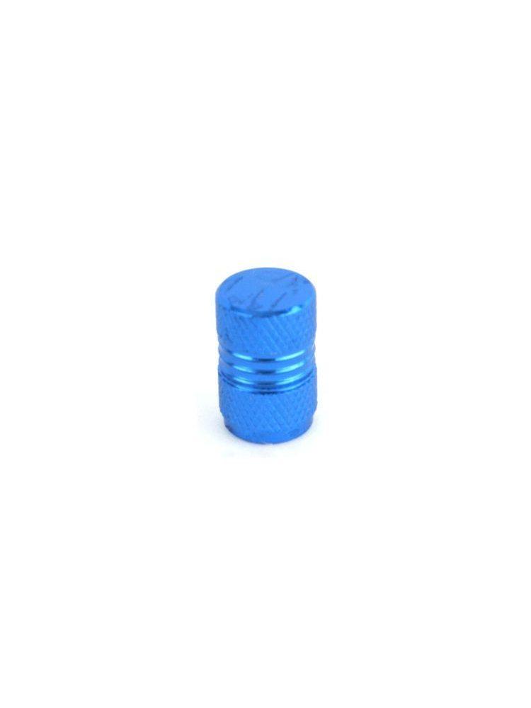 Колпачок для ниппеля DM-KWX12, сталь, хром, синий