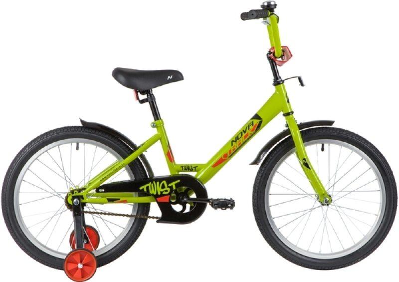 """Детский велосипед NOVATRACK TWIST 20"""" (2020)"""