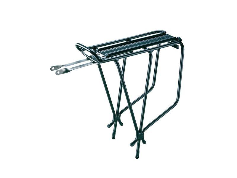 TOPEAK Explorer Tubular Rack, Aluminum Tubular, W/Spring велобагажник (B, black)