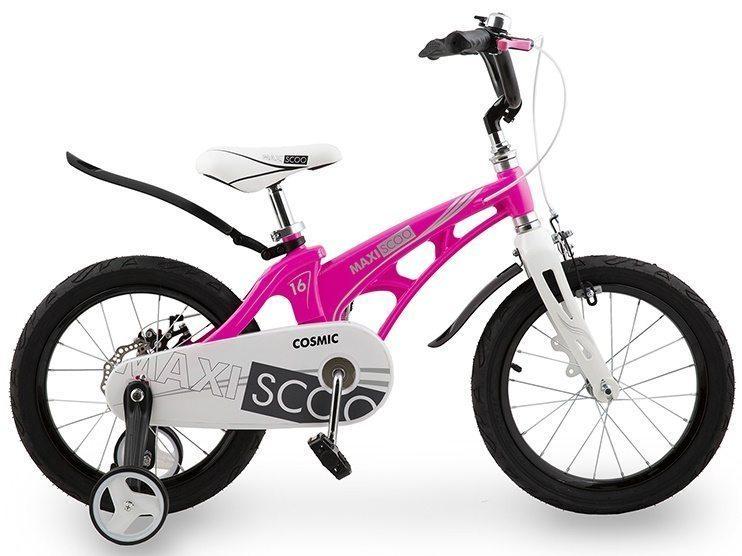 """Детский 2- колесный велосипед Maxiscoo Cosmic Стандарт плюс 16"""" (2020)"""