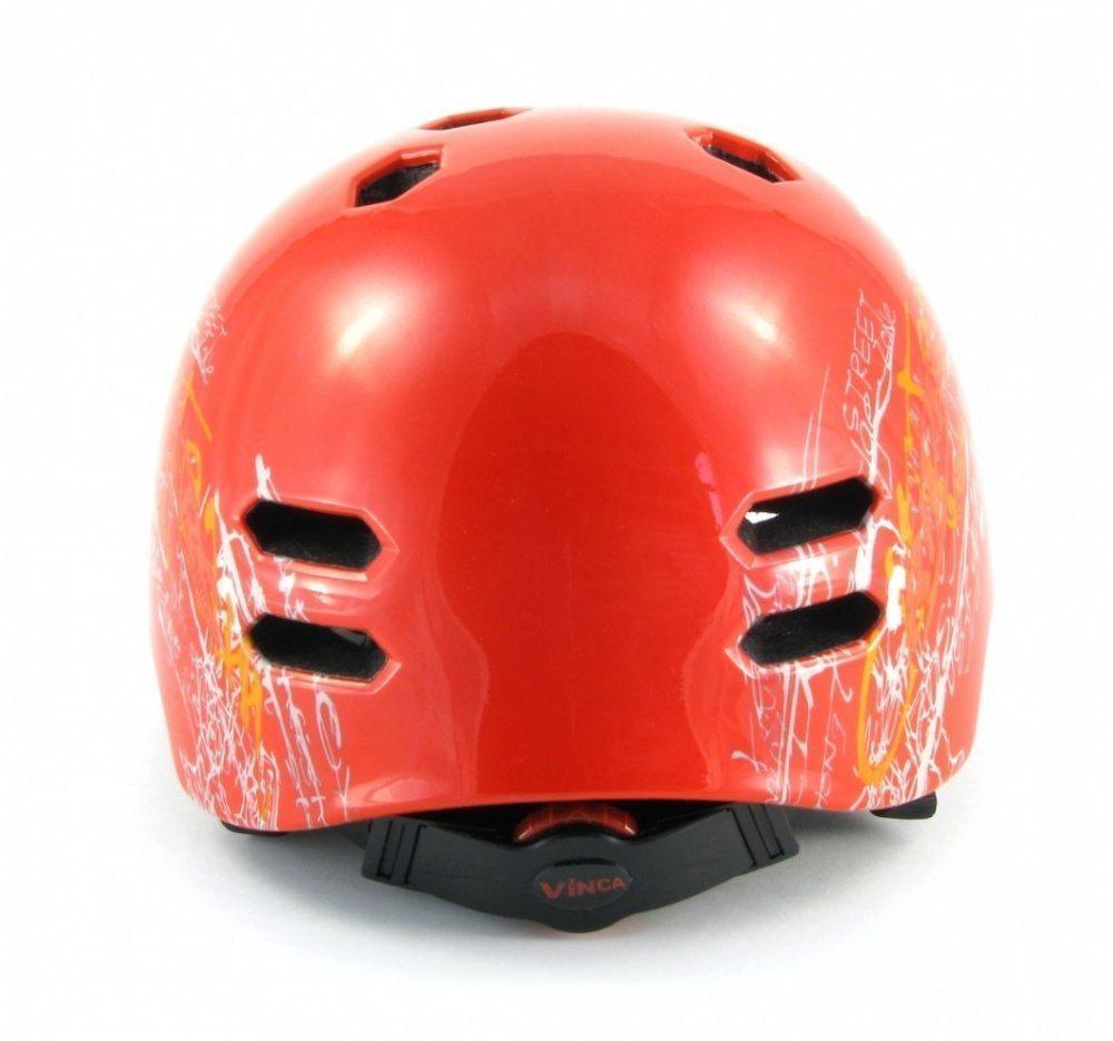 Шлем экстремальный, размер L(58-60), цвет красный, шт